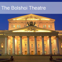 Moscow, The Bolshoi Theatre